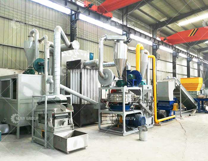 ZY-BRA Circuit Board Recycling Line