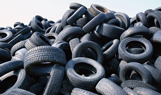 The recovery and utilization of waste tires in the United States