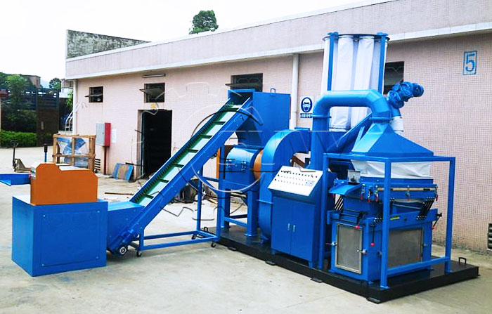 ZY-400 Scrap Copper Cable Wire Recycling Machine