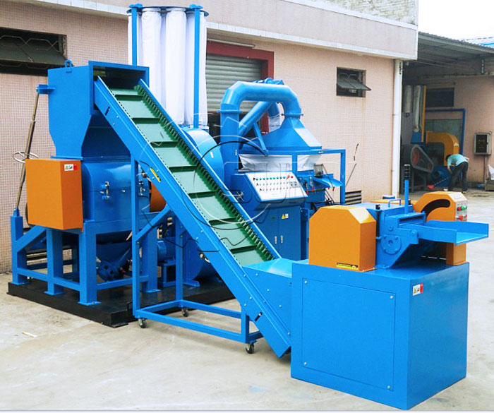 ZY-400 Scrap Copper Cable Wire Recycling Machine Picture Details
