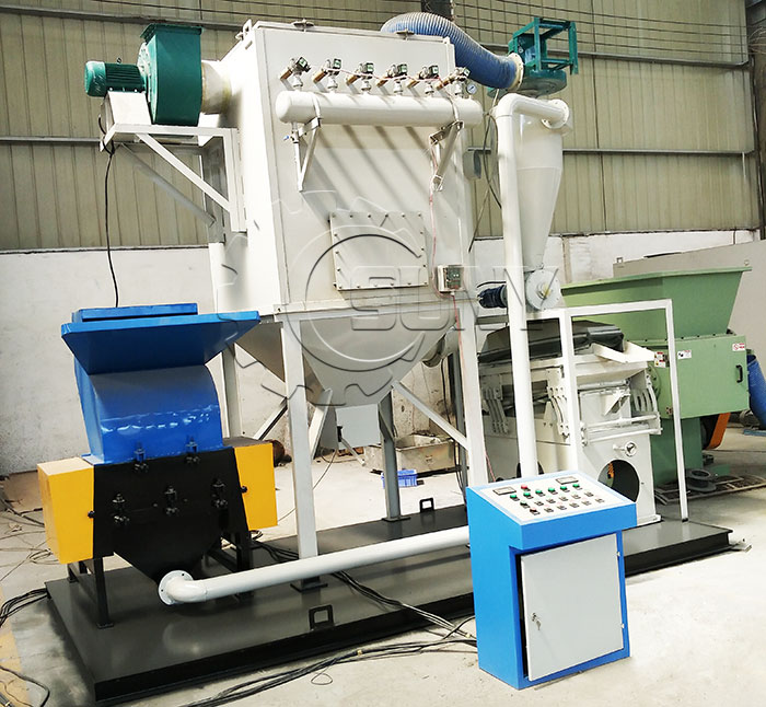 ZY-500 Cable Wire Granulating Machine Picture Details