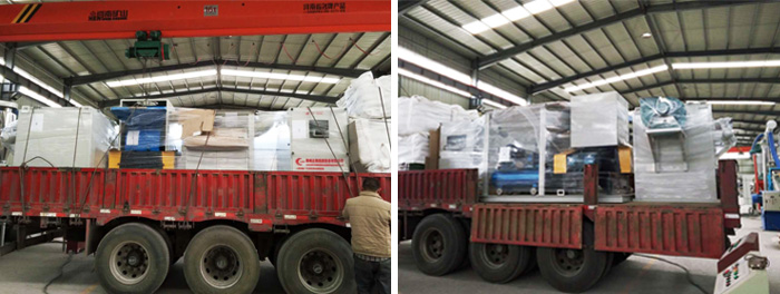 ZY-500 Cable Wire Granulating Machine Packaging & Shipping
