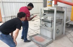 Indian customers inspection waste circuit board recycling equipment