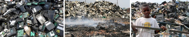Electronic Waste Is Becoming of The World\s Largest Source of Waste