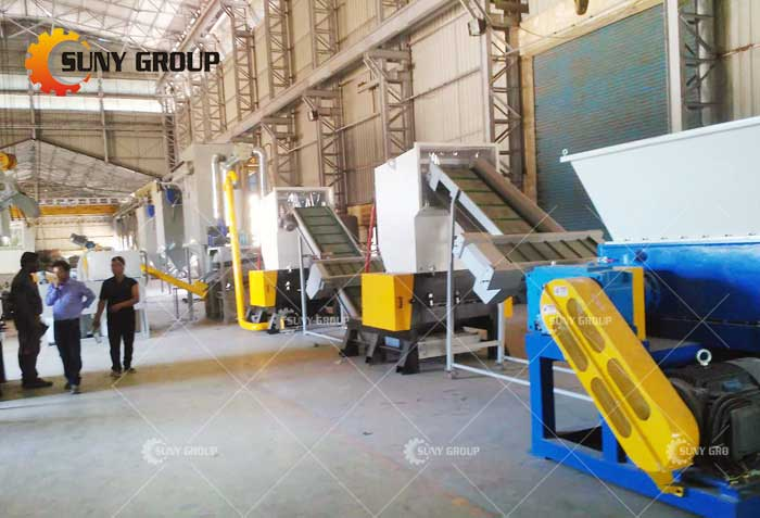 cable wire recycling line