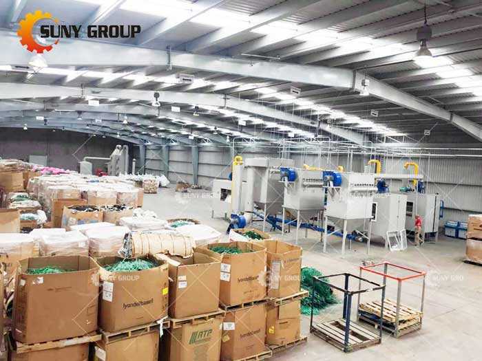 waste circuit board recycling line